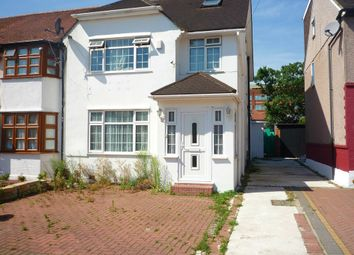 Thumbnail 5 bed semi-detached house to rent in Burwell Avenue, Greenford, London
