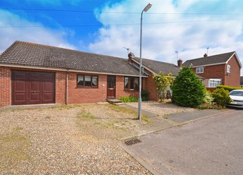 Thumbnail 3 bed bungalow for sale in Nursery Close, Acle, Norwich