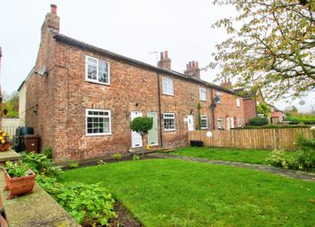 Thumbnail 2 bed end terrace house for sale in Claxton, York