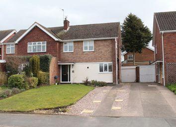 Thumbnail 3 bed semi-detached house for sale in Van Diemans Road, Wombourne, Wolverhampton