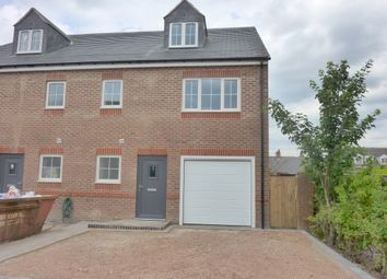 Thumbnail 4 bedroom semi-detached house for sale in Rossendale Road, Earl Shilton, Leicester