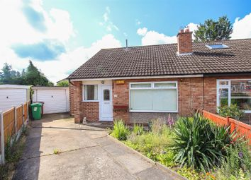 Thumbnail 2 bed semi-detached bungalow for sale in Stanway Close, Carlton, Nottingham