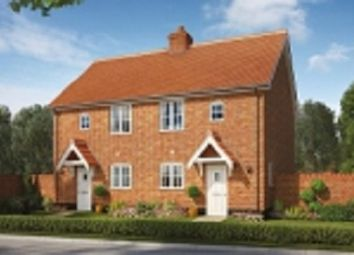 Thumbnail 2 bed semi-detached house for sale in Silfield Road, Wymondham