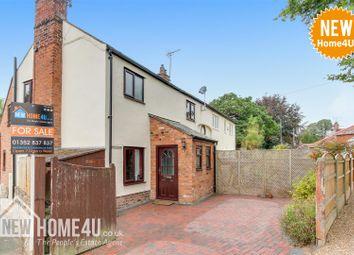Thumbnail 3 bed semi-detached house for sale in Gun Street, Rossett, Wrexham