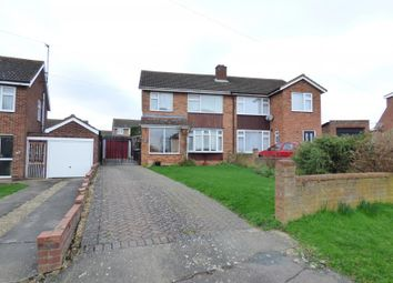 Thumbnail 3 bed semi-detached house for sale in Bedford Road, Wootton, Bedford