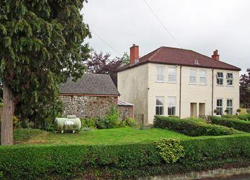 Thumbnail 2 bed semi-detached house for sale in 1 Kimberley Villas, Howey, Llandrindod Wells, Powys