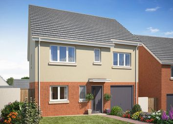 Thumbnail 4 bed detached house for sale in Teignmouth Road, Kingsteignton, Newton Abbot, Devon