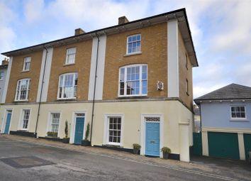 Thumbnail 4 bedroom end terrace house for sale in Wadebridge Square, Poundbury, Dorchester