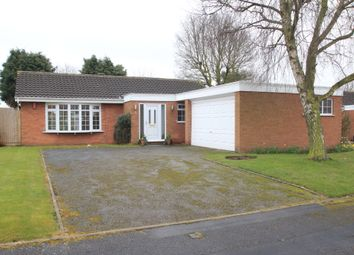 Thumbnail 3 bed detached bungalow to rent in Chebsey Drive, Stafford, Staffordshire