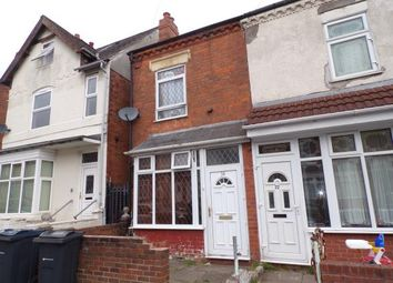 Thumbnail 3 bed terraced house for sale in Nansen Road, Sparkhill, Birmingham, West Midlands