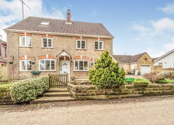 Thumbnail 4 bed detached house for sale in West Tockenham, West Tockenham, Swindon