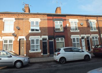 Thumbnail 3 bed terraced house to rent in Guilford Street, Off St Stephens Road, Leicester