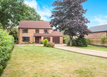 Thumbnail 4 bed detached house for sale in Downham Road, Watlington, King's Lynn