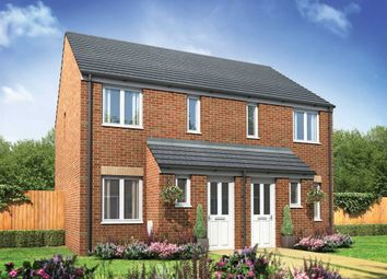"Thumbnail 2 bed semi-detached house for sale in ""The Alnwick "" at Stane Street, Billingshurst"