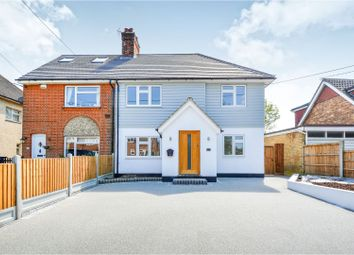 Thumbnail 4 bed semi-detached house for sale in Short Lane, Billericay