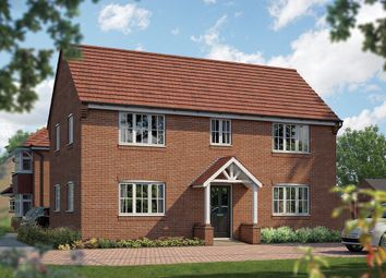 "Thumbnail 4 bed detached house for sale in ""The Montpellier"" at Station Road, Lower Stondon, Henlow"