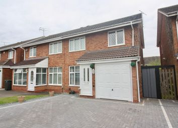 Thumbnail 3 bedroom semi-detached house for sale in Stoneywood Road, Walsgrave On Sowe, Coventry