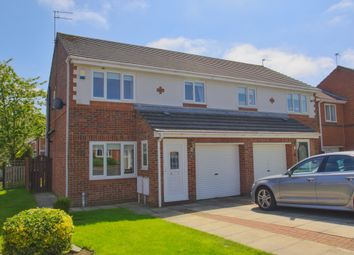 Thumbnail 3 bed semi-detached house for sale in Leyfield Close, Sunderland, Tyne And Wear