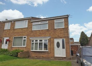 Thumbnail 3 bed semi-detached house for sale in Wychgate, Middlesbrough, North Yorkshire