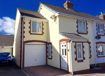 Thumbnail 3 bed semi-detached house for sale in Teal Avenue, Chickerell, Weymouth