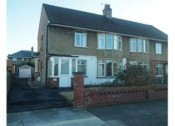 Thumbnail 2 bed flat for sale in Colwyn Avenue, Bare, Morecambe