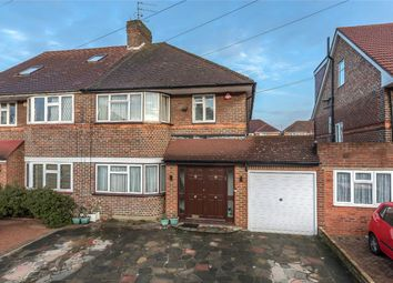 Thumbnail 3 bed semi-detached house for sale in Cornbury Road, Edgware, Middlesex