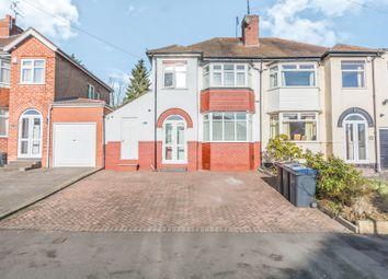 Thumbnail 3 bed semi-detached house for sale in Weymoor Road, Harborne, Birmingham