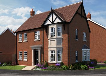 "Thumbnail 4 bed detached house for sale in ""The Willow"" at The Ridge, Blunsdon, Swindon"