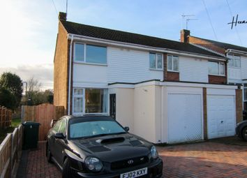 Thumbnail 3 bedroom end terrace house for sale in Alderminster Road, Coventry