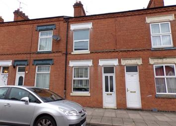 Thumbnail 2 bed terraced house for sale in Beatrice Road, Newfoundpool, Leicester, Leicestershire