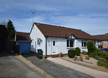 Thumbnail 2 bed semi-detached bungalow for sale in Juniper Close, Honiton, Devon