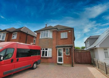 Thumbnail 3 bed detached house for sale in Hunt Road, Oakdale, Poole