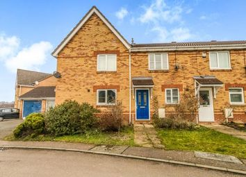 Thumbnail 2 bed terraced house for sale in Sandringham Close, Wellingborough, Northamptonshire, England