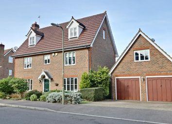 Thumbnail 5 bedroom detached house for sale in Wood End, Chineham, Basingstoke