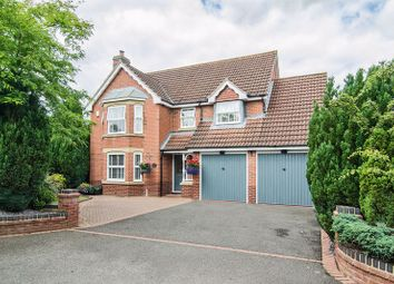 Thumbnail 4 bed detached house to rent in Spires Croft, Shareshill, Wolverhampton
