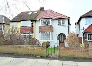 Thumbnail 3 bed semi-detached house to rent in West End Road, Ruislip Gardens, Ruislip