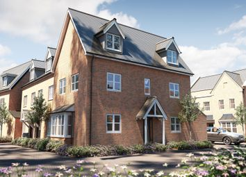 "Thumbnail 3 bedroom semi-detached house for sale in ""The Portland"" at Bishopsfield Road, Fareham"