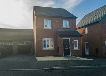 Thumbnail 3 bedroom detached house for sale in Mill Field Avenue, Countesthorpe, Leicester