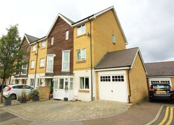 Thumbnail 4 bed end terrace house for sale in Robinson Way, Northfleet, Gravesend, Kent