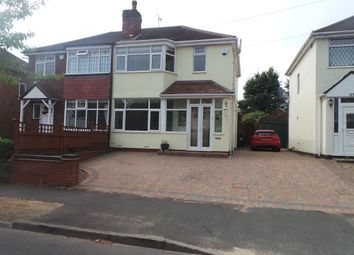 Thumbnail 2 bed semi-detached house for sale in George Frederick Road, Sutton Coldfield
