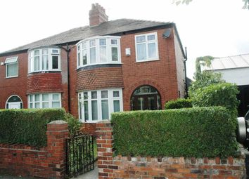 Thumbnail 3 bed semi-detached house for sale in Slade Lane, Burnage, Manchester