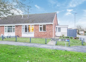 Thumbnail 2 bed semi-detached bungalow for sale in Mount View, Great Glen, Leicester