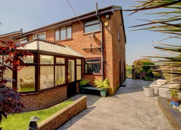 Thumbnail 3 bed semi-detached house for sale in Moss Hall Road, Bury