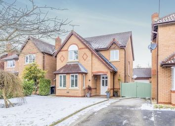Thumbnail 4 bed detached house for sale in Millrace Drive, Wistaston, Crewe, Cheshire