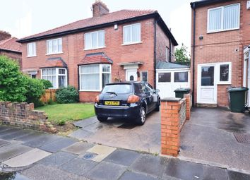 Thumbnail 3 bed semi-detached house for sale in Foxton Avenue, North Shields