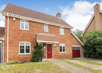 Thumbnail 3 bed link-detached house for sale in Draper Way, Chapel Break, Norwich