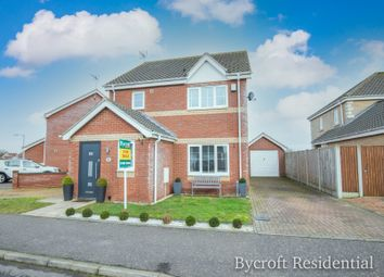 Thumbnail 3 bed detached house for sale in Kings Drive, Bradwell, Great Yarmouth