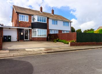 Thumbnail 3 bed semi-detached house for sale in Westbury Road, North Shields