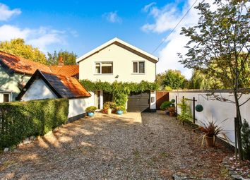 Thumbnail 3 bed end terrace house for sale in The Turnpike, Bunwell, Norwich