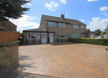 Thumbnail 3 bed semi-detached house for sale in Tudor Road, Godmanchester